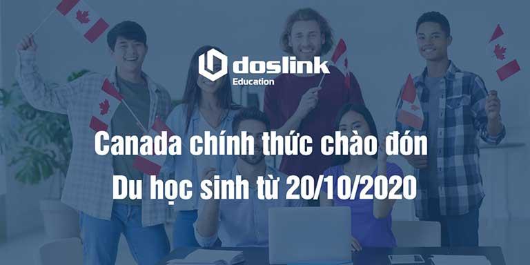 Canada chính thức chào đón du học sinh từ 20/10/2020