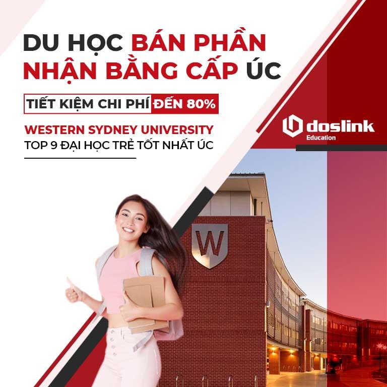 Du học bán phần – Nhận bằng cấp Úc với chương trình 1+2 tại Western Sydney University