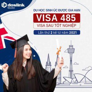 Du học sinh Úc có thể gia hạn visa 485 lần thứ 2 từ năm 2021