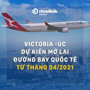 Victoria dự kiến mở lại đường bay quốc tế từ tháng 04/2021