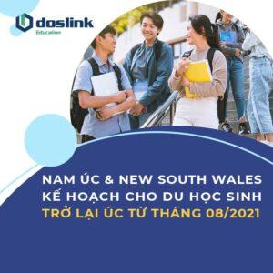 Nam Úc va New South Wales kế hoạch đưa sinh viên quốc tế trở lại Úc từ tháng 08/2021